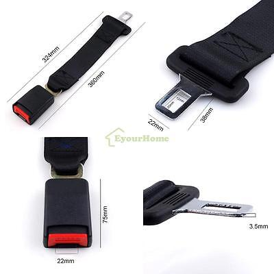 "Universal(Not all) Car Seat Belt Seatbelt Extender Extension Safety Longer 7/8"""