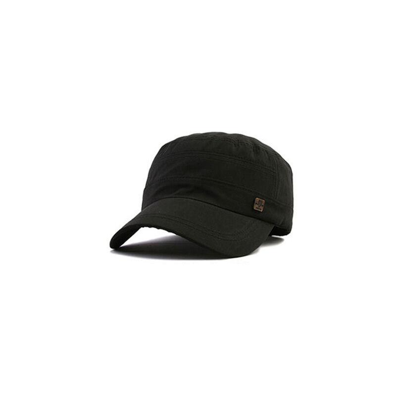 XL~2XL XXL 61~64Cm Unisex Mens Polyester Solid Color Baseball Cap Trucker Hats