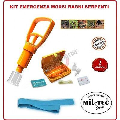 Kit Medico per Rimozione Veleno da Puntura di Insetti e Vipere ecc First Aid Kit