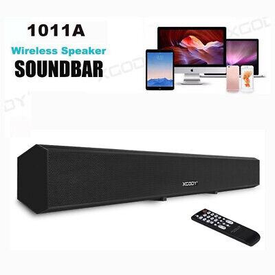 XGODY 40W TV Bluetooth Soundbar Stereo Speaker Sound Box Bui