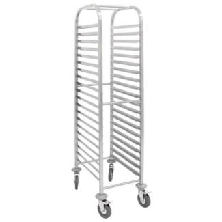 Gastronorm Racking Trolley 20 Shelves Stoage Stainless Steel Melbourne CBD Melbourne City Preview