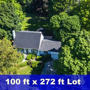 Awesome South Oakville Home On Prime Street  100 ft x 272 ft