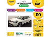 Renault Clio 0.9 TCe ( 90bhp ) MediaNav ( s/s ) ECO Dynamique £41 PER WEEK