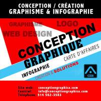 Infographie service création de carte d'affaires, Graphisme