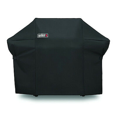 Summit 400 Series -  Weber 7108 Grill Cover With Black Storage Bag For Summit 400-Series Gas Grills