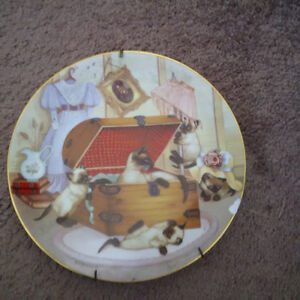 Country Kitties plate collection London Ontario image 9