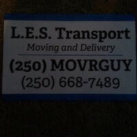 Professional Movers*L.E.S. Transport*Moving