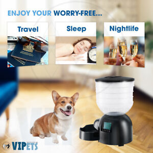 Free Your Holidays – Automatic Pet Food Dispenser 24/7 hold 11LB