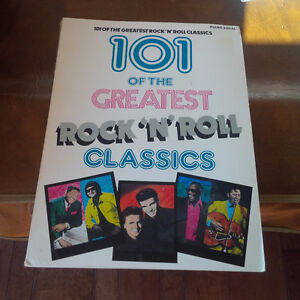 101 of the Greatest Rock 'n' Roll Classics, Piano, Vocal, 1989