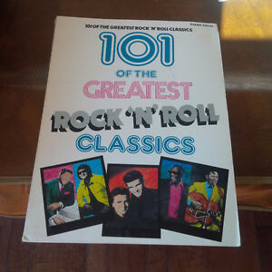 101 of the Greatest Rock 'n' Roll Classics, Piano, Vocal, 1989 Kitchener / Waterloo Kitchener Area image 1