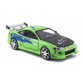 1:24 Fast & Furious Brian's Mitsubishi Eclipse Jada Toys DieCast Metal Model