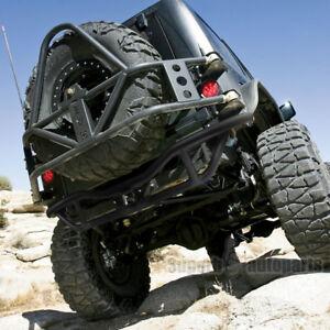 2007-2017 Jeep Wrangler JK Black Rock Crawler Tubular Rear Bumper Grill Guard