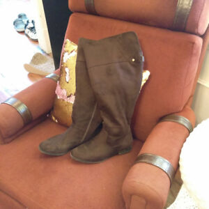 Brown Size 9 W Knee high boots