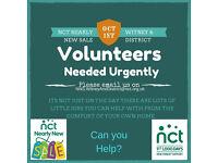Volunteers Witney & District NCT Urgent Help Needed