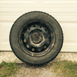 Hancook Snow Tires and Rims set of 4