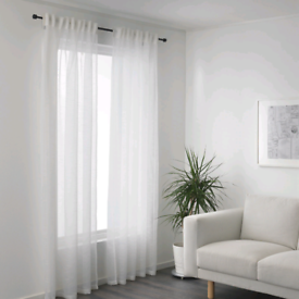 IKEA sheer curtain