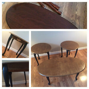 Vintage Queen Anne Coffee & End Tables St. John's Newfoundland image 1