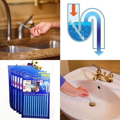 Sani Drain Cleaner Sticks Odor Remover Sink Kitchen Bath Tub 48PCS Magic