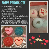 Handmade Valentines Bath & Body Products and Gift Sets!