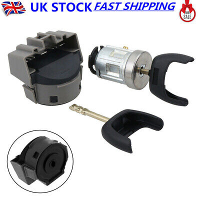 Ignition Switch & Lock Barrel with 2 Keys For Ford Transit Focus Connect Fiesta