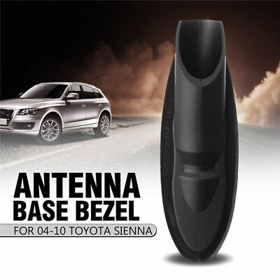 Manual Antenna Bezel Ornament Radio Base For Toyota Sienna 2004-2010 86392-AE010