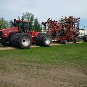 STX 500 and Bourgault 6550 & 74' Air drill