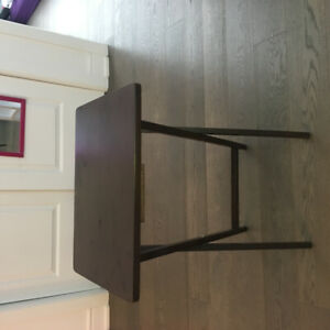Foldable Table. foldable chair. plastic drawer. Mirror. Curtain