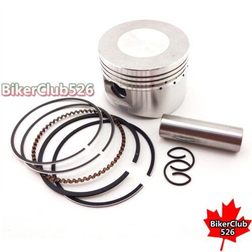 ATV Piston Pin Ring 52mm 14mm Set For Lifan 125cc Pit Dirt Trail Bike Motorcycle