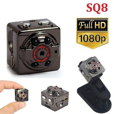 Cam: Ultrakompakte Micro-Videokamera mit HD-1080p-Auflösung & LED-Nachtsicht A40 Kompakte Video-kamera