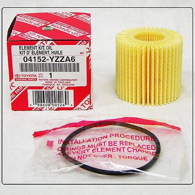 TOYOTA OEM Engine Oil Filter 04152 YZZA6 for Scion Corolla Matrix Prius
