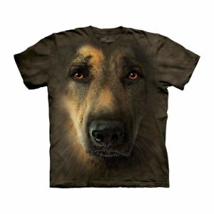 German Shepherd BIG FACE t-shirt            NEW Best Prices