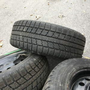 205-55-16 - 4 NEXT TO BRAND NEW TOYO GSI-5 on 5 bolt rims