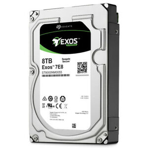 Seagate 8TB SATA Hard Drives (BRAND NEW WITH FULL WARRANTY)