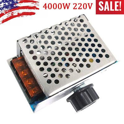 4000w Ac 220v Scr Motor Speed Driver Controller Module Voltage Regulator Board