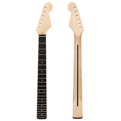 22 Fret Maple Electric Guitar Neck Fingerboard For St Replacement
