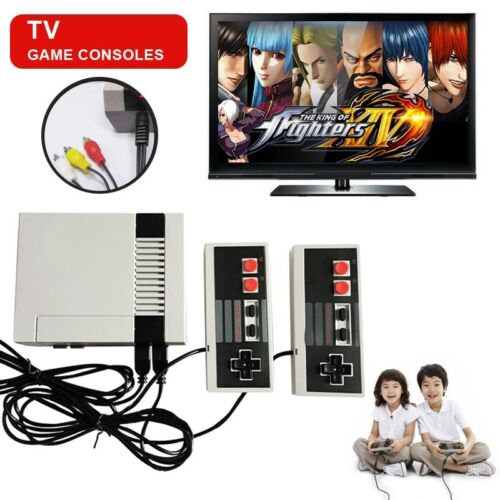 $23.95 - Retro Classic Game Console TV 8-Bit Built-in 500 Childhood Games w/2 Controllers