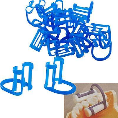 100pcs Cotton Roll Holder Disposable Clip For Dental To Isolate Teeth Fda
