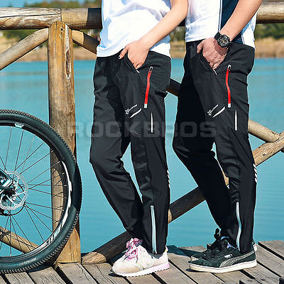 ROCKBROS Unisex  Cycling Outdoor Polyester Pants Bicycle Casual Wear Trousers XL