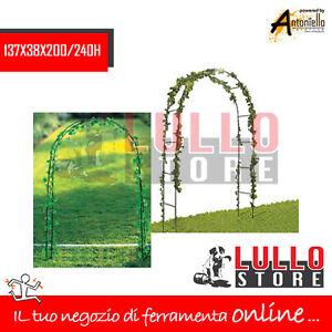 Arco decorativo piante giardino in metallo fiori for Arco decorativo giardino