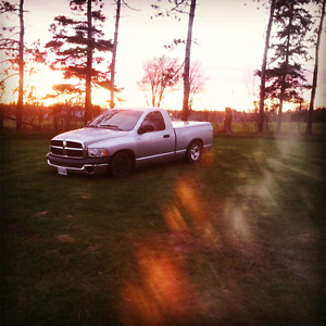 Lowered 2003 dodge ram reg cab short box