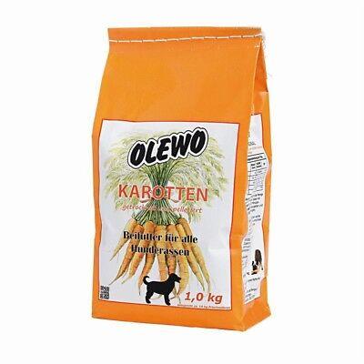Olewo Karotten Pellets | 1kg Allco Welpenfutter