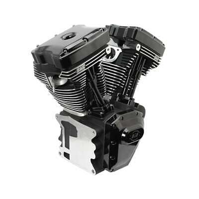 T124 S&S CYCLE TWIN CAM HD ENGINE BLACK EDITION 99-06 640 CAMS (EXCEPT 06 DYNA)
