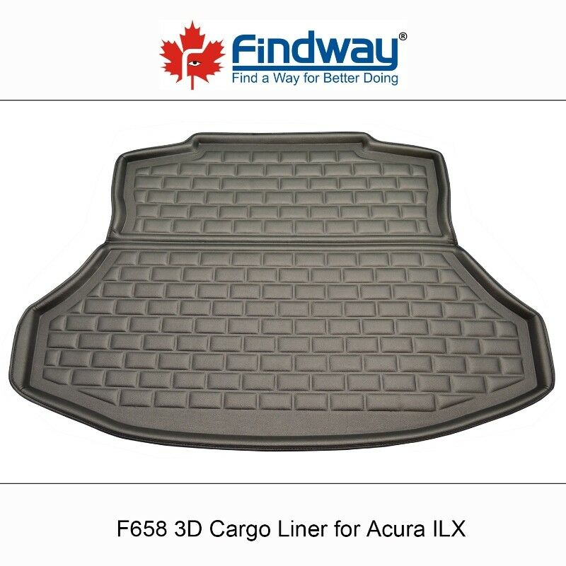Findway F658 Style 3D Cargo Liner For 2013-2017 Acura ILX