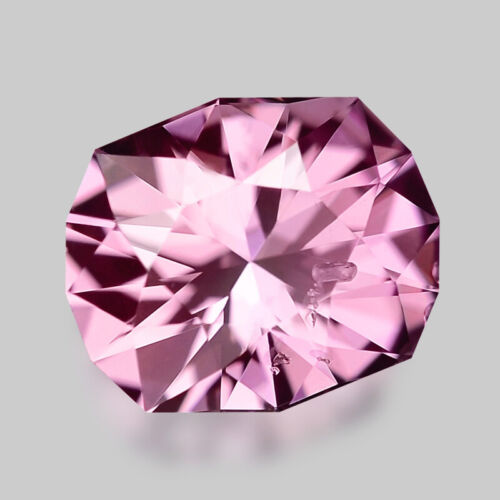 1.21cts GORGEOUS CUSTOM CUSHION CUT MYANMAR PINK SPINEL VIDEO IN DESCRIPTION