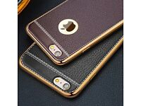 iPhone 7 Luxury Ultra-thin PU Leather TPU Soft Phone Case Cover for iPhone 7