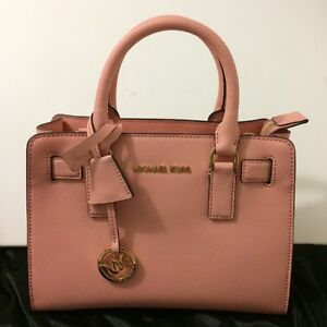 Micheal Kors Small saffiano leather satchel