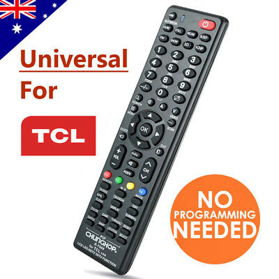 TCL Smart TV Universal Remote Control NO PROGRAMMING For 3D HDTV LED LCD TV