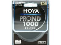 Hoya 82 mm Pro ND 1000 Filter - Neutral Density 10 stop - Used but Perfect
