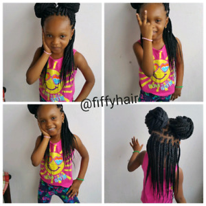AFRICAN BRAIDER ALL BRAIDS!!!