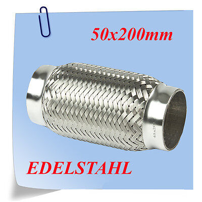 Auspuff REPARATUR FLEXROHR 50x200 EDELSTAHL NEU online kaufen